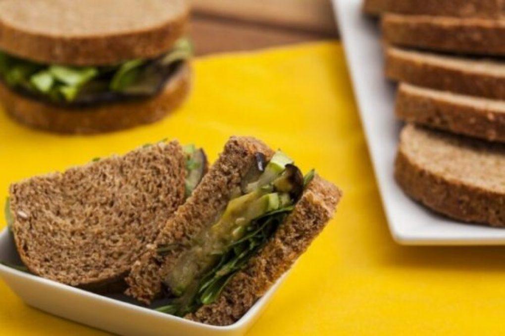 Sanduíche de vegetais