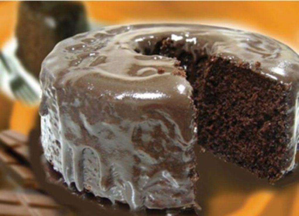 Bolo de chocolate - Zero açúcar