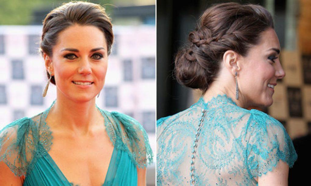 Kate Middleton Carol Sisson tranças