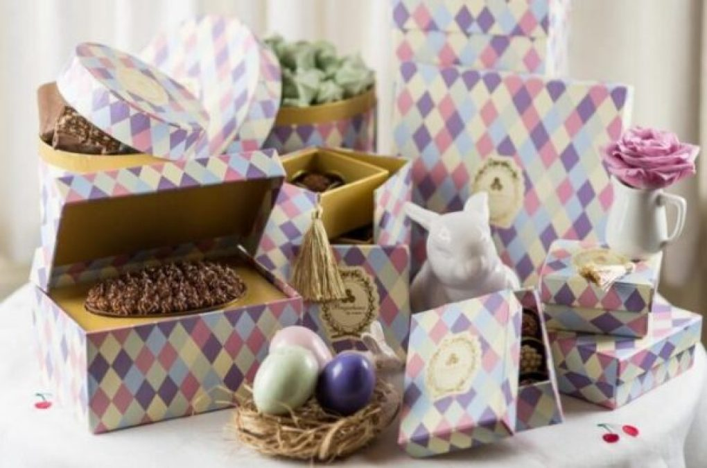 Coleção de Ovos de Páscoa da Brigadeiros by Cousins's