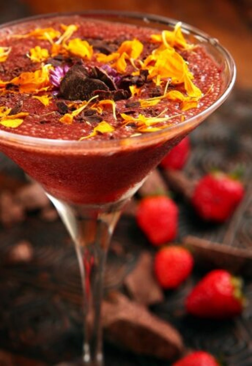 Drink de chocolate Chocoberry