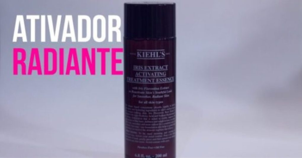 Resenha: Iris Extract Activating Treatment Essence de Kiehls
