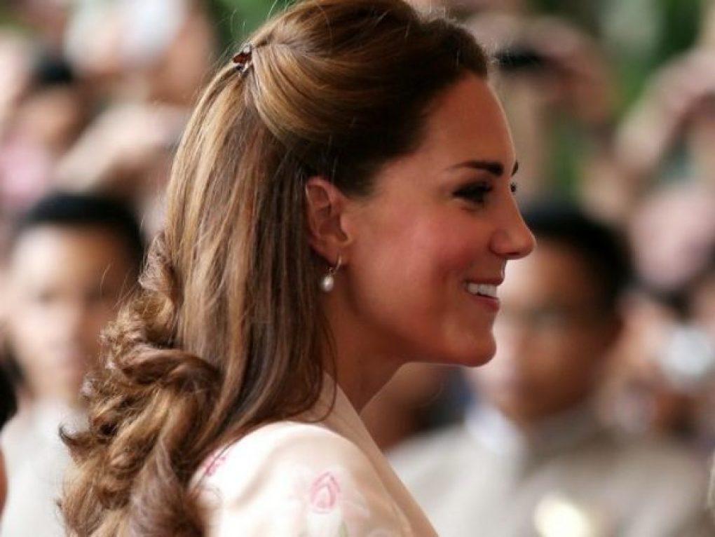 O polêmico penteado de Kate Middleton