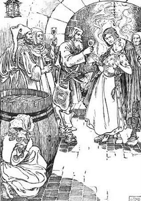 Illustration: The Robber Bridegroom