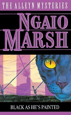 March Mystery Madness: Black As He's Painted by Ngaio Marsh