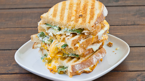 Pin It and Do It: Jalapeno Popper Grilled Cheese