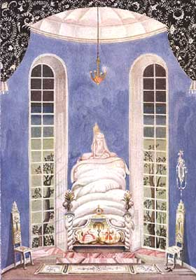 Illustration by Kay Nielsen from Fairy Tales by Hans Andersen, 1924