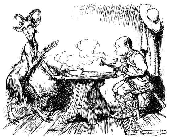 Illustration by Arthur Rackham, 1912