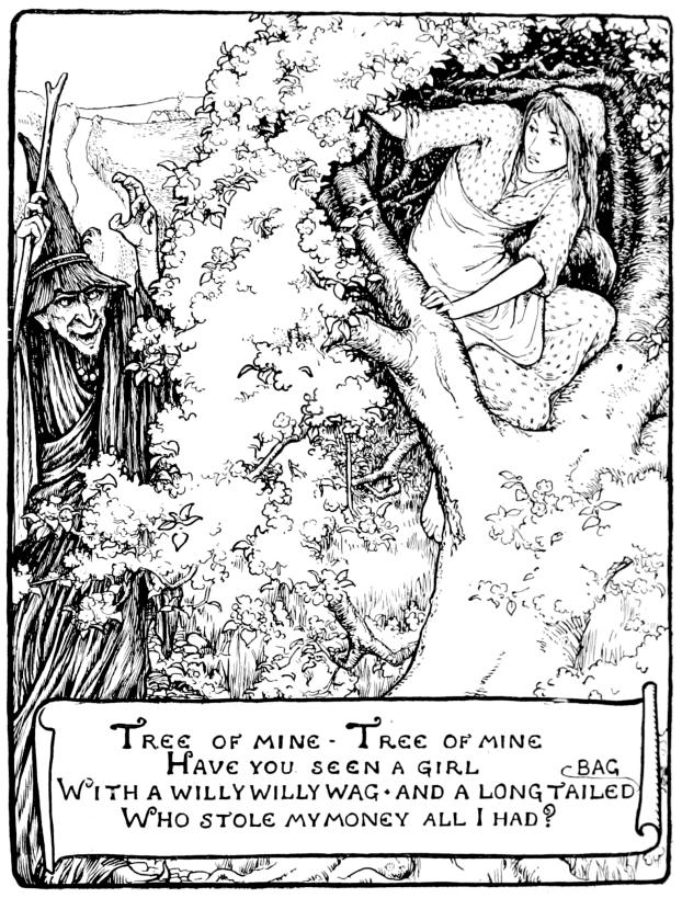Illustration by John D. Batten.