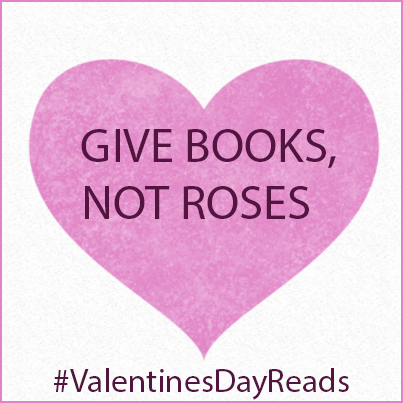 Give Books, Not Roses