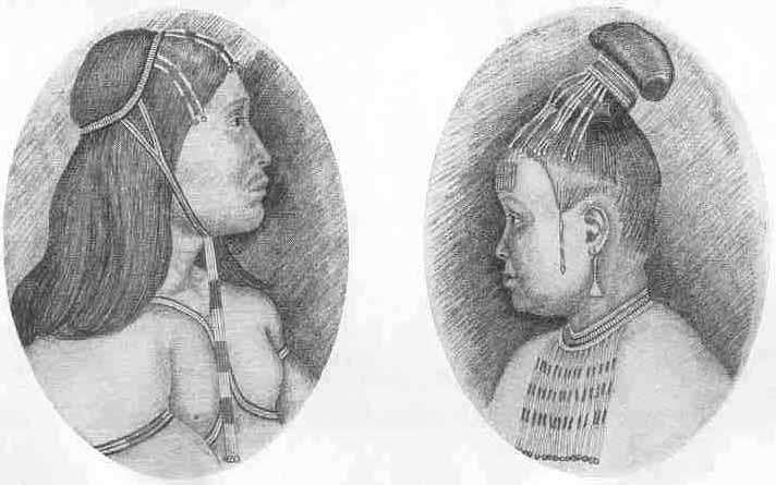 Man and wife from Angmagsalik
