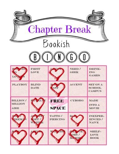 February Bookish Bingo