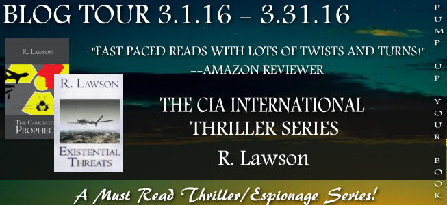 The CIA International Thriller Series banner