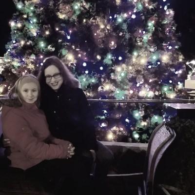Carol and niece
