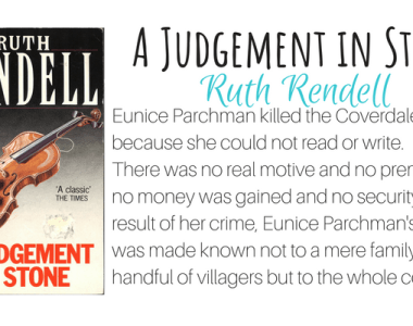 A Judgement in Stone by Ruth Rendell