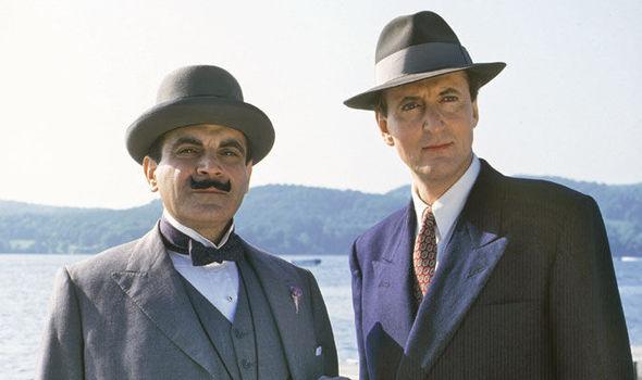 Hugh Fraser and David Suchet