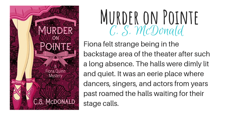 Murder on Pointe by C. S. McDonald