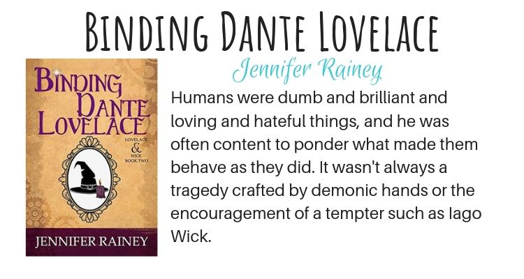 Binding Dante Lovelace by Jennifer Rainey