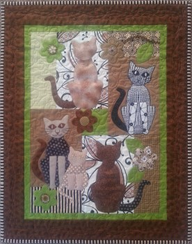 Marys Cat Quilt