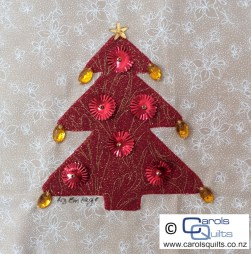 Carols Quilts Christmas Tree 3