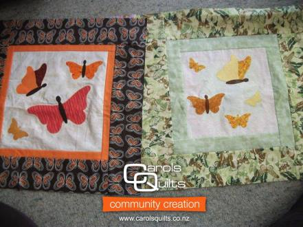 Butterflies from Betty with Community Creation