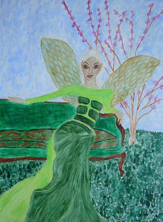 Faerie artwork by Carol Swing