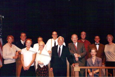 Seated On Stage-Broken Angels cast