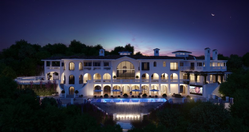 75 million for a Spanish villa in Bel Air — Hot Property