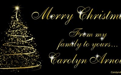 Merry Christmas from Carolyn Arnold