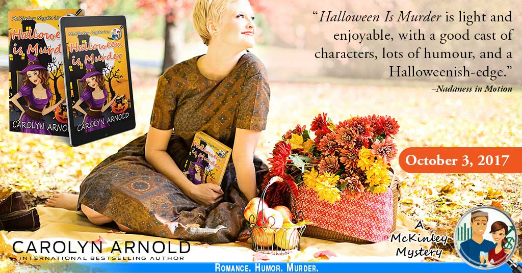 #Interview with Carolyn Arnold about #HALLOWEEN IS MURDER #Newrelease