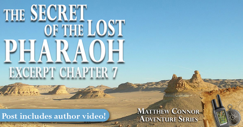 For better or worse, Matthew Connor will always be his father's son… An #excerpt from THE SECRET OF THE LOST PHARAOH