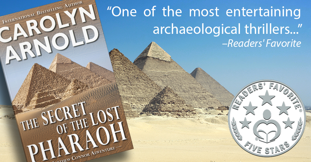 Readers' Favorite rated The Secret of the Lost Pharaoh 5 stars!!!