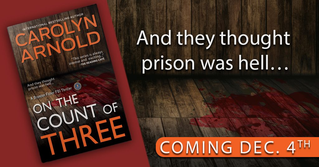 The wait is over! FBI Agent Brandon Fisher is back in another FBI thriller!