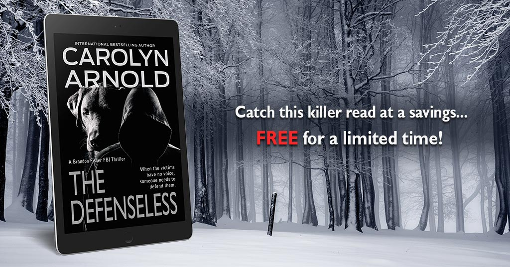 The Defenseless, an FBI Serial-Killer Read is #Free for a Limited Time!