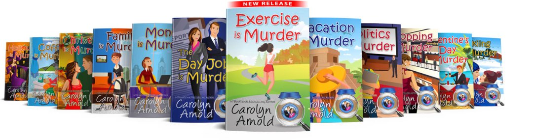 McKinley Mysteries 12 book covers