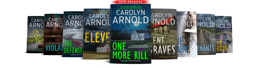 Brandon Fisher FBI Series 8 book covers