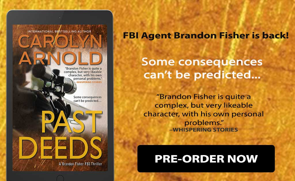Fans of the Brandon Fisher FBI Series Will Want to Pre-Order the Latest Installment! #Thriller