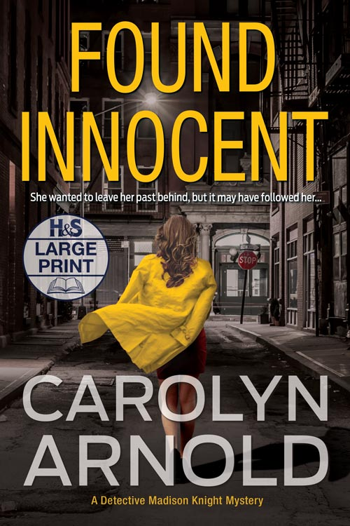 Found Innocent  Large Print Edition by Carolyn Arnold