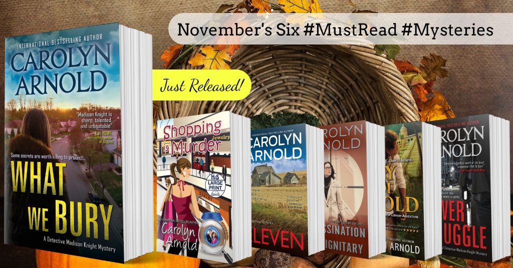 Six #MustRead #Mysteries You'll Be Thankful for This November