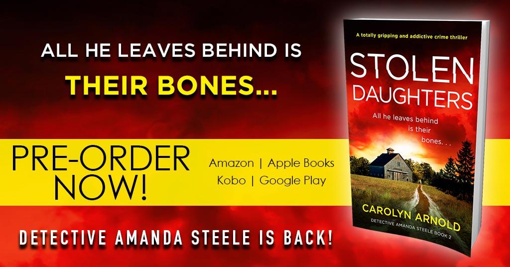 Pre-order Now! Detective Amanda Steele Returns in STOLEN DAUGHTERS @Bookouture