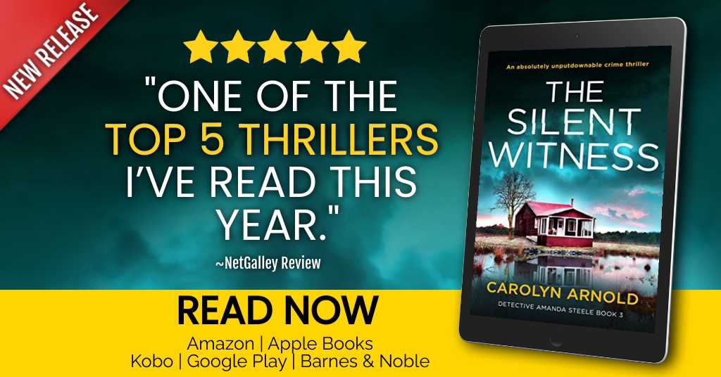 The unputdownable crime thriller The Silent Witness, releases today. Published by Bookouture.