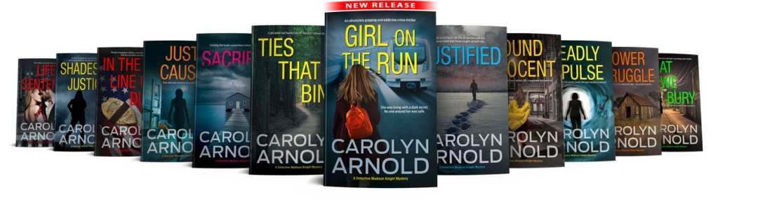 Detective Madison Knight Series 12 book covers