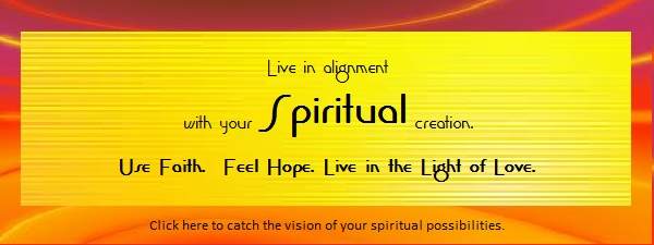 Orange-red with Orange-yellow SPIRITUAL 580 x __ for programs and possibilities page