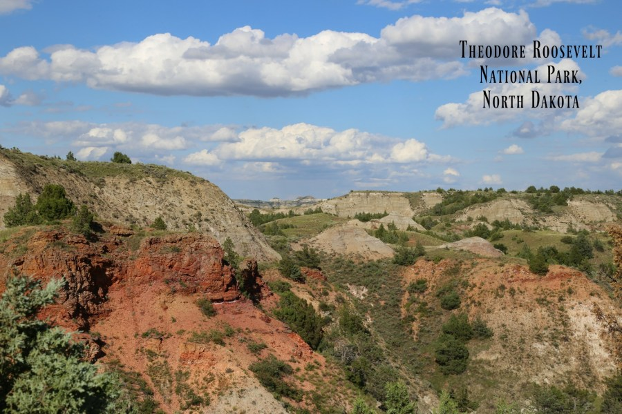 Theodore Roosevelt National Park Badlands