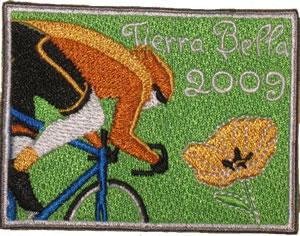 Patch for teh 2009 Tierra Bella Bike Ride