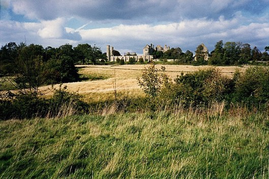 The battlefield with Battle Abbey in the background. © Carolyn M Cash