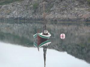 Norwegian traditional boat