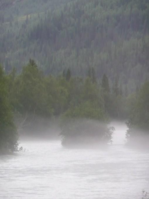 Mountain river at dawn Norway 2007