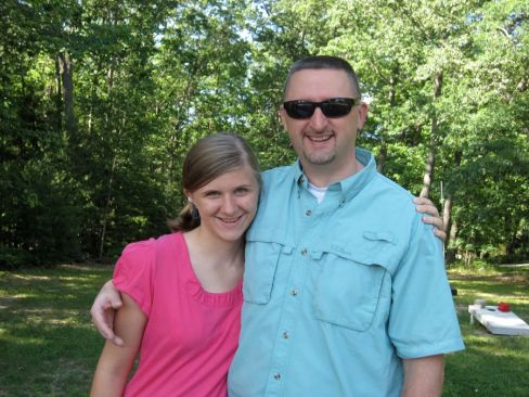 Kristi and her Dad
