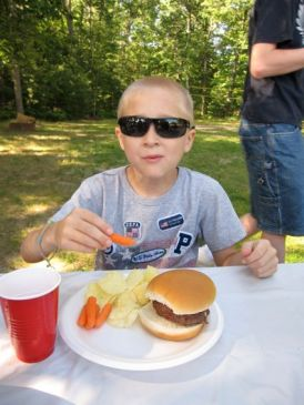 Josiah - great picnic weather